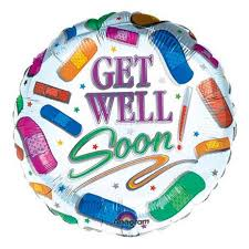 get well soon balloons get well soon balloon inmotion flowers