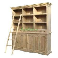 Dr Bookcase Bookcase Image Of Library Solid Wood Bookcases Reclaimed Teak