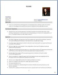 Sample Resume For Experienced Desktop Support Engineer by Sample Resume For Fresher Linux System Administrator Templates