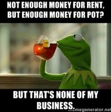 Rent Meme - my ex who complained to me about not being able to pay rent meme