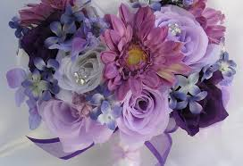 silk wedding bouquets flowers gorgeous silk wedding bouquets for accessories 50th