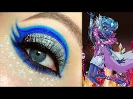 monster high astranova makeup tutorial you channel full sc sk3bia