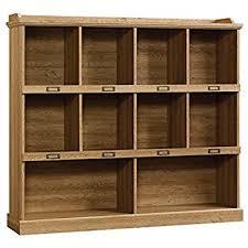 amazon com threshold carson horizontal bookcase white finish