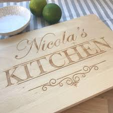 personalised cutting board personalised wooden engraved kitchen chopping board wedding present