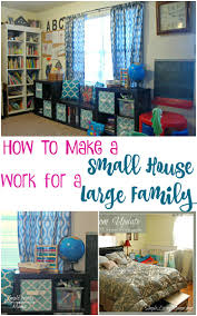 how to make a small how to make a small house work for a large family simple living mama