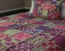Pink Full Size Comforter Teen Bedding Etsy