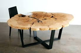 live edge round table coffee and dining table live edge round coffee table round live edge