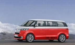 volkswagen van front view vw bus to be re released as an electric vehicle minds