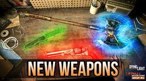 dying light dlc ps4 how to get the new glowing weapons in content drop 1 dying light