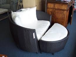 wicker chair and ottoman editeestrela design