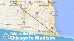 Chicago Ohare Terminal Map by Taking The Bus From Chicago To Madison Youtube