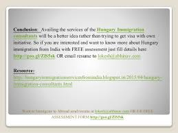 How To Send Resume To Consultancy Hungary Immigration Consultants From India