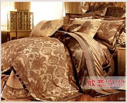 King Size Bedding Sets For Cheap 9 Pcs Gold Comforter Set Luxury Sale Bedding Set King Size