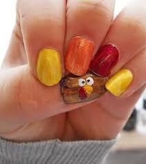 thanksgiving by just alexiz nail nails nailart thanksgiving