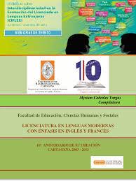 memorias coloquio lenguas extrangeras myriam cabrales usbctg 2013