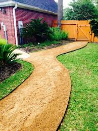 Backyard Walkway Ideas by Best 25 Crushed Granite Ideas On Pinterest Decomposed Granite