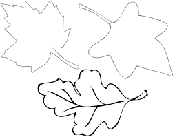6 best images of leaf tracers printable maple leaf coloring page