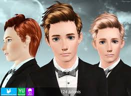 sims 3 men custom content sims 3 updates newsea sims j124 adonis hairstyle for males by newsea