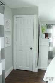 closets under the eves oil rubbed bronze spray painted doorknob