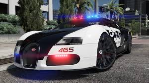 car bugatti bugatti veyron pursuit police add on replace template
