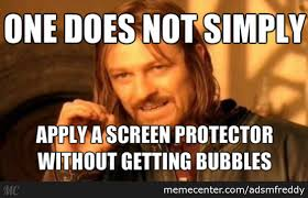 Bubbles Meme - screen protector bubbles by adsmfreddy meme center