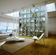 contemporary home library home design ideas
