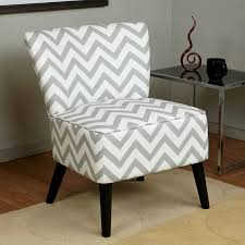 Chevron Armchair Alina Fabric Accent Chair