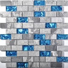 stone mosaic tile sheets kitchen backsplash tiles interlocking