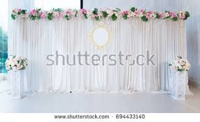 wedding backdrop on stage wedding stage stock images royalty free images vectors