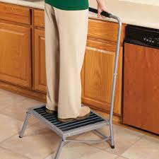 folding step stool with handle collapsible step stool miles