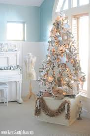 kara u0027s party ideas shabby chic christmas tree archives kara u0027s