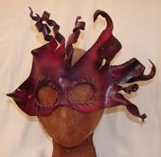 leather mardi gras masks leather masks for mardi gras comedia arte