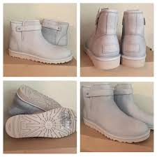 womens ugg rella boots 36 ugg shoes ugg australia rella light gray moto ankle boot