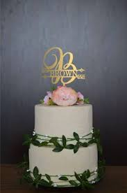 rustic monogram cake topper wedding cake topper letter monogram cake topper wedding rustic