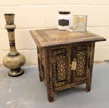 morroco style maravi 45cm hand carved moroccan style table