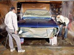 How To Spray Paint Your Car - home garage paint booth how to prep your garage for painting