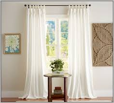 White Tie Curtains Linen Tab Curtains 100 Images Tab Tie Curtains Tie Top White