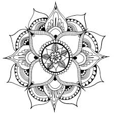 henna mandala art print henna mandala mandala art hennas