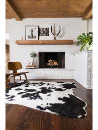 coffee tables zebra cowhide rug faux animal rug with head