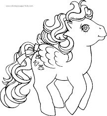 my little pony color page cartoon characters coloring pages