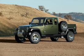 jeep concept vehicles 2015 a jeep pickup truck is being planned official confirms