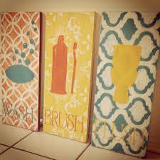 diy make your own stencil bathroom decor cotton u0026 cottage