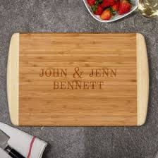 personalized engraved cutting board personalized cutting boards
