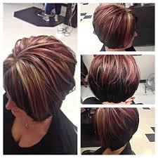brunette hairstyle with lots of hilights for over 50 6f2f2473ad1aaa3dd229305470fd8518 jpg 640 640 pixels hairstyles