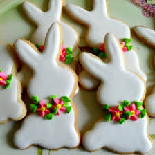 rabbit cookies white rabbit sugar cookie bonne fête baking