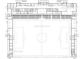 athletic facilities dwg models free download football stadium dwg cad file download free