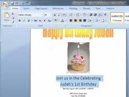 how to make a birthday card on microsoft word u2013 gangcraft net