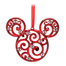 your wdw store disney disc ornament bohemian filigree mickey