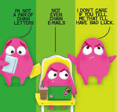 seeks ghosts ghost chain letters
