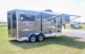 2018 shadow 2 horse slant 7 u0027 living quarters
